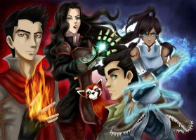 Avatar Team by catablu