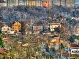 HDR view from my balcony by Pildik