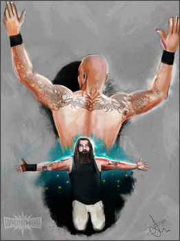 Randy Orton vs Bray Wyatt WrestleMania 33 by zkorejo