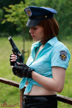 Jill Valentine RE Deadly Silence cosplay IV by Rejiclad