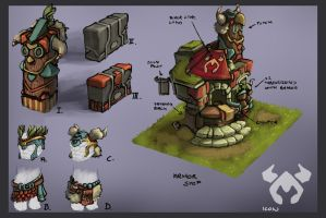 Armor Store Concepts by Domen-Art