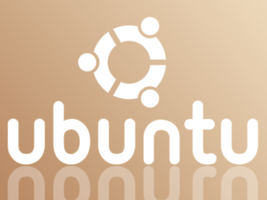 White Ubuntu with reflection by 5t3f4n