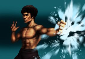 bruce lee by Lv-Simian