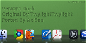 Venom Dock for XWD 5.6 and 2.0 by AxiSan