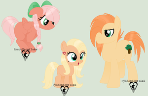 FlutterMac Adoptable Babies by PyscoSnowflake