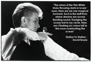 Station To Station - David Bowie by EZZIELUVSDAVIDBOWIE