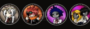 D.Gray-Man Buttons for AN by TaiDaisuke
