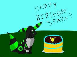 Happy Birthday Sparx by Squiggy13