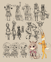 WIP Adopts Sale [OPEN] by JeanaWei