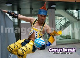 Hanging on there Wakka by ManticoreEX