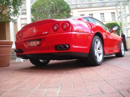 Ferrari at the Hyatt by shellz53