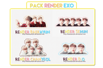 [300415] PACK RENDER EXO [ YUIN ] by HunhanStyle