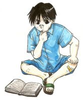 Study hard, Roy Mustang by UchihaSae