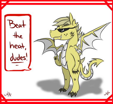 Prone to the Heat by SoulEater-Love
