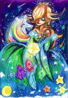 MARIO: Rosalina - Watcher of the Cosmos by Juricha