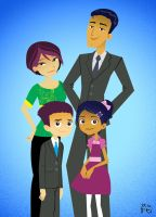 6teen Garcia Family Portrait by SpeciosusNihilum