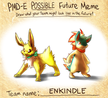 Enkindle: Possible future meme by yassui