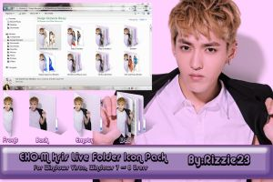 EXO Kris Live Folder Icon Pack by Rizzie23