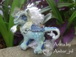 My little custom pony Arata by AmbarJulieta
