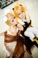 WCS selection : Rin and Len by Jesuke