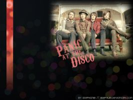 Panic At the Disco Wallpaper by Stephue