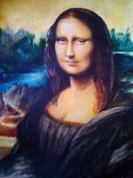 Mona Lisa by EshiraArt