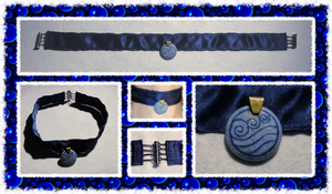 Katara's Necklace for Gothic-Phantom-Zero by ChimeraDragonfang