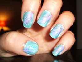 Pastel Feathers by lettym