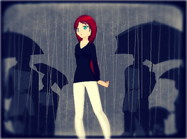 Alone in the Rain by crissy-bubbles