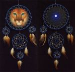 Cougar dreamcatcher by WolfsECHO