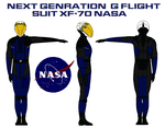 Next Genration  G flight suit XF-70 NASA by bagera3005