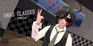 pixel SWAG Glasses +DOWNLOAD by Esthezolled