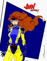 Jean Grey by MojoBrown