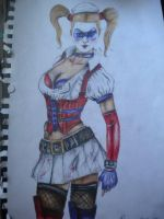 Harley Quinn by christieconcept