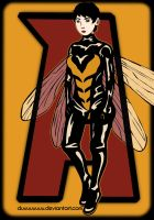 Janet Van Dyne - Wasp [Fan art] by Duuuuuuuu
