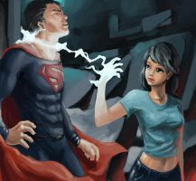 Superman's domination by nightwalker0510