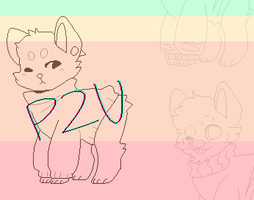 P2U - sweater doge lines by Supi-adopts