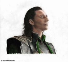 Loki (Avengers) by Quelchii