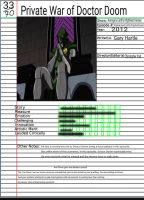 Admirable Animation: Private War of Doctor Doom by Chaser1992