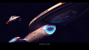 USS Voyager - NCC 74656 by LynxMukka