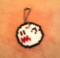 Hama Beads - Ghost by JustSyl