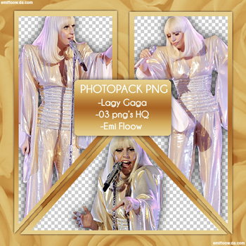 Photopack png Lady Gaga 02 by Emifloow