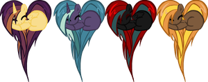 Heart Pony Auction(closed) by DerpyNinjaAdopts