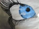 Blue Eye by MissFero