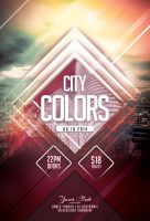 City Colors Flyer by styleWish