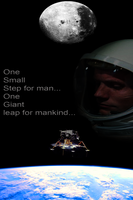 Neil Armstrong by DanielsDoodles