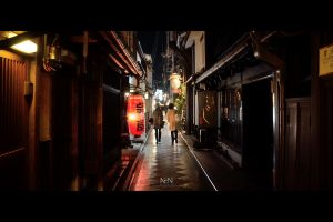 Streets of Kyoto #4 by Ni0n