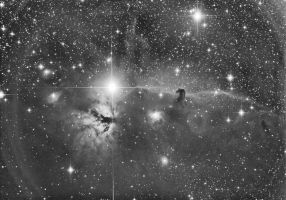 Horse-head nebula guiding test by theninja42