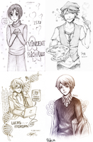 Project MBTI fanart Collaboration by Selinawen