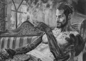 Adam Jensen by fishbone0102